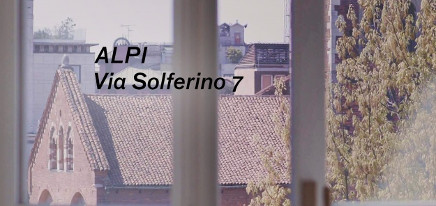 Showroom ALPI / Solferino 7 Milano