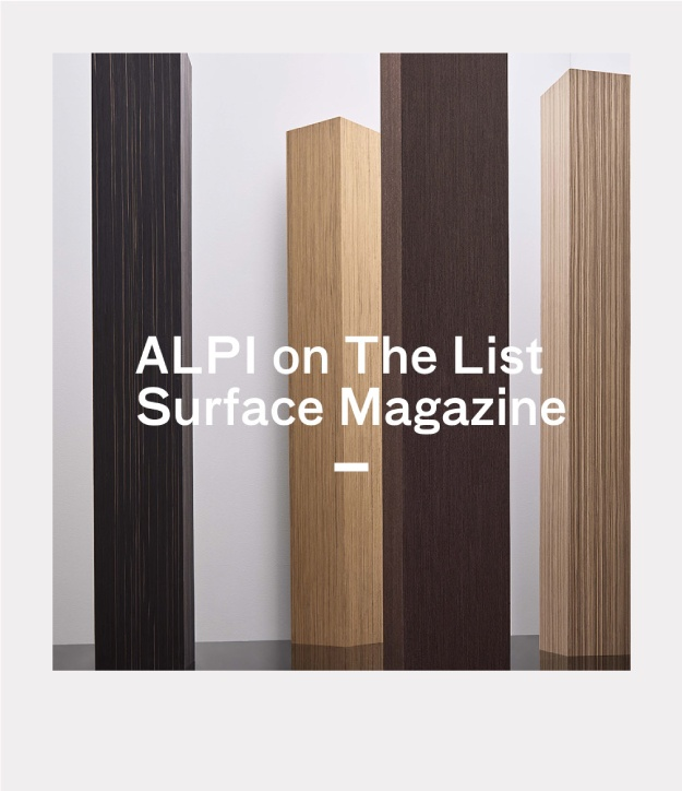ALPI su The List by Surface Magazine