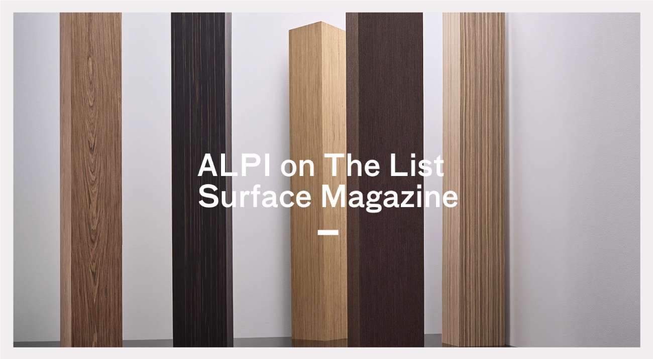 ALPI on The List by Surface Magazine