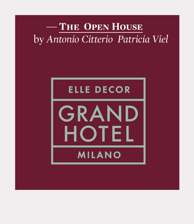 ALPI wood for the Elle Decor Grand Hotel second edition at Palazzo Morando, Milan
