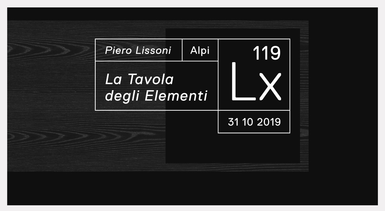 La Tavola degli Elementi/ Piero Lissoni for ALPI