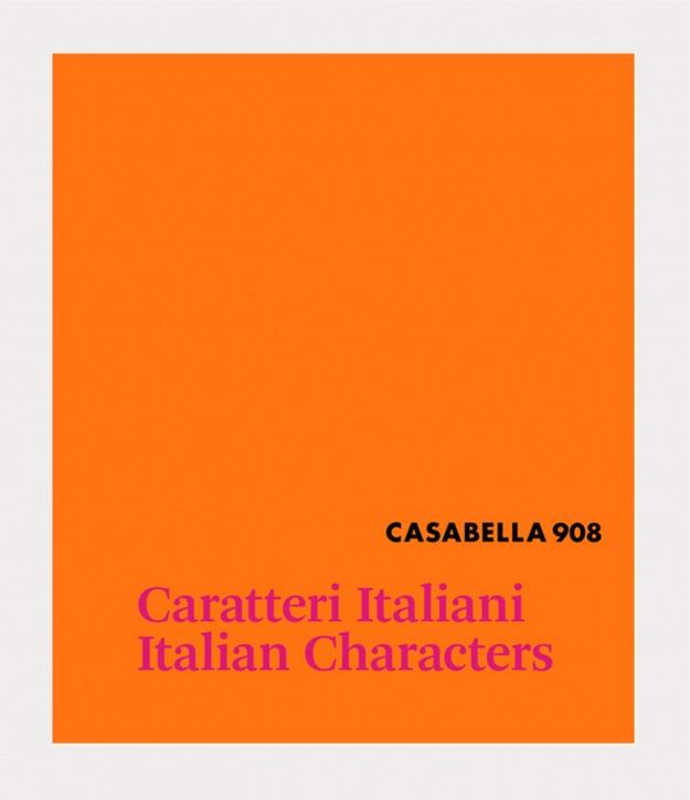 "ALPI per CASABELLA  ""Caratteri Italiani / Italian Characters"""