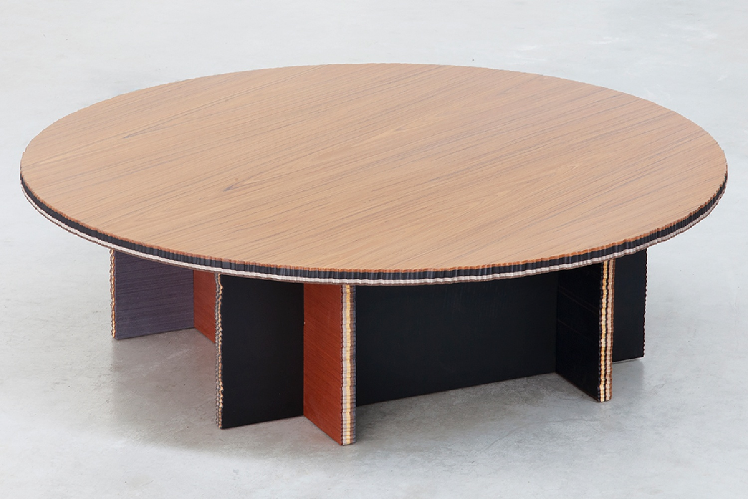 "ALPI reclaimed wood in the new ""George"" collection of tables designed by Marco Campardo for SEEDS London Gallery"