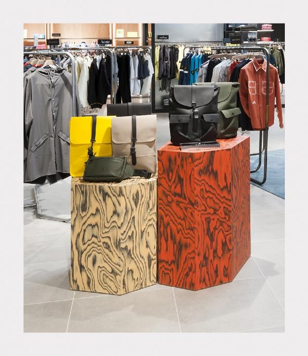 Деревянные покрытия ALPI украсили новые интерьеры Rinascente во Флоренции