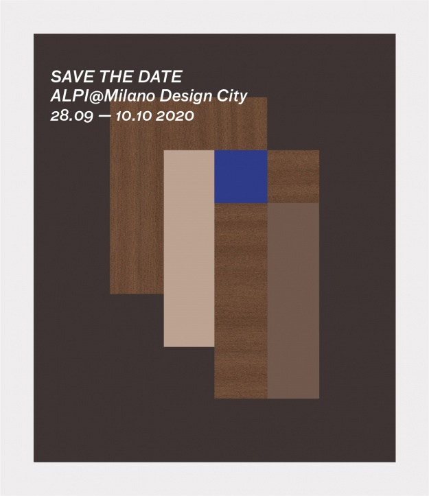 SAVE THE DATE: ALPI @MILANO DESIGN CITY