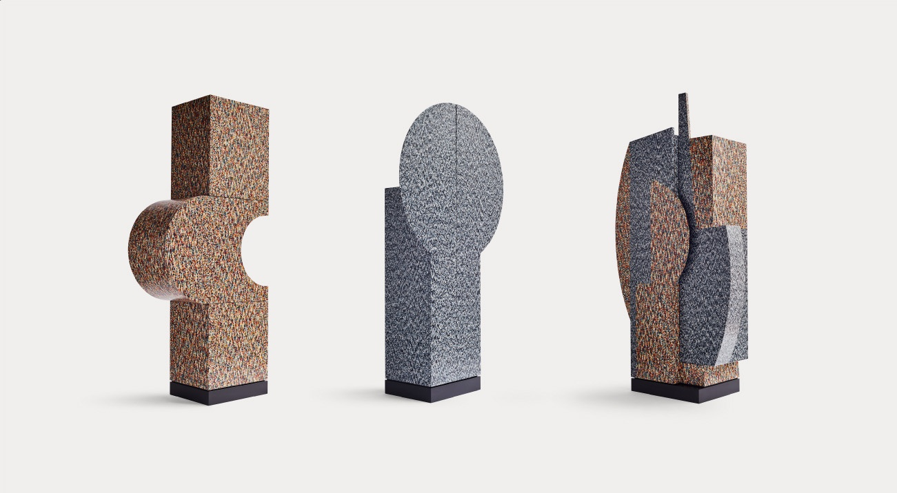 Tre Primitivi by Alessandro Mendini @Museo Madre