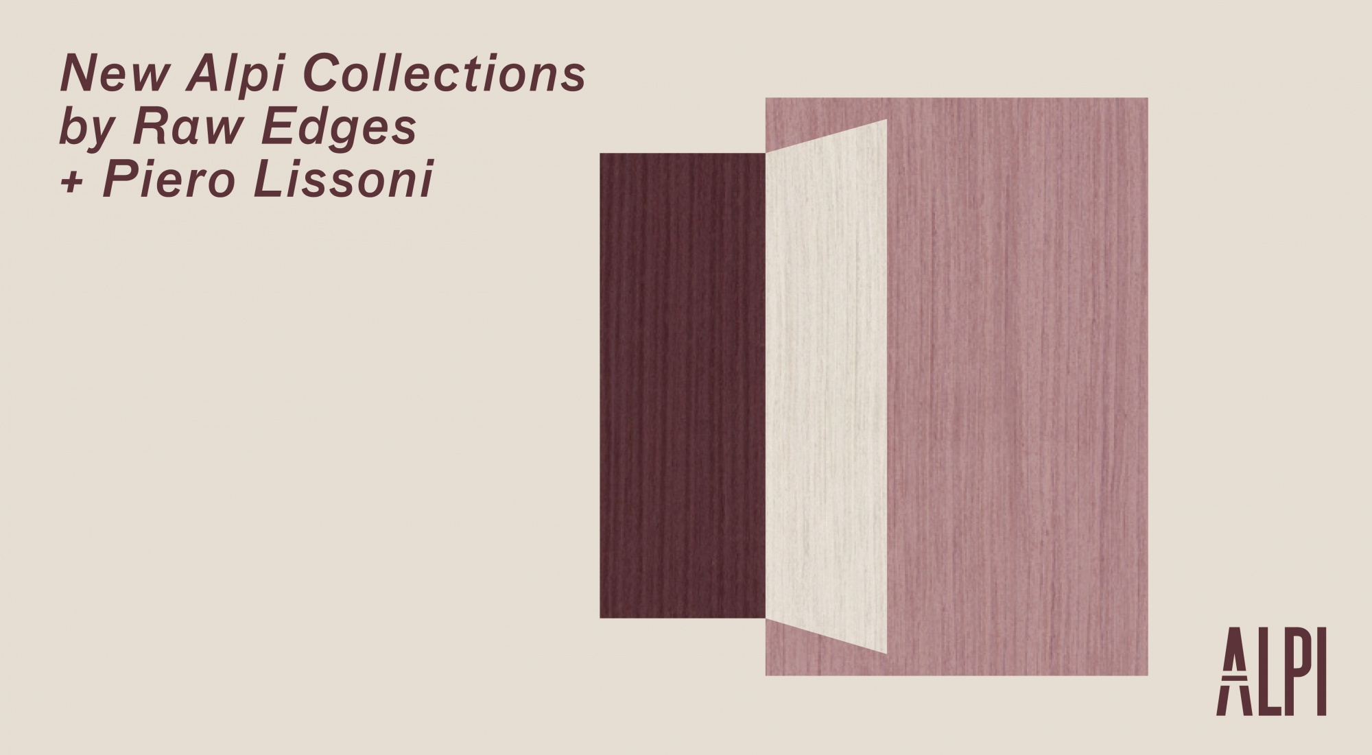 New Alpi Collections by Raw Edges + Piero Lissoni