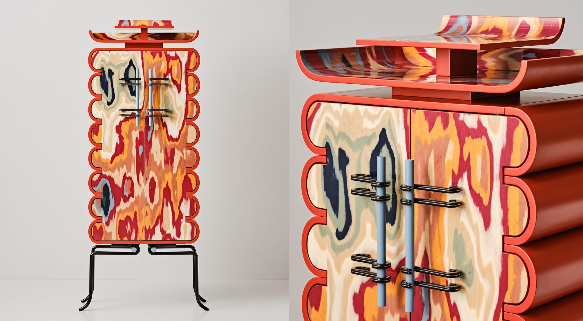 ALPI per ORNATE -  Bethan Laura Wood alla Nilufar Gallery