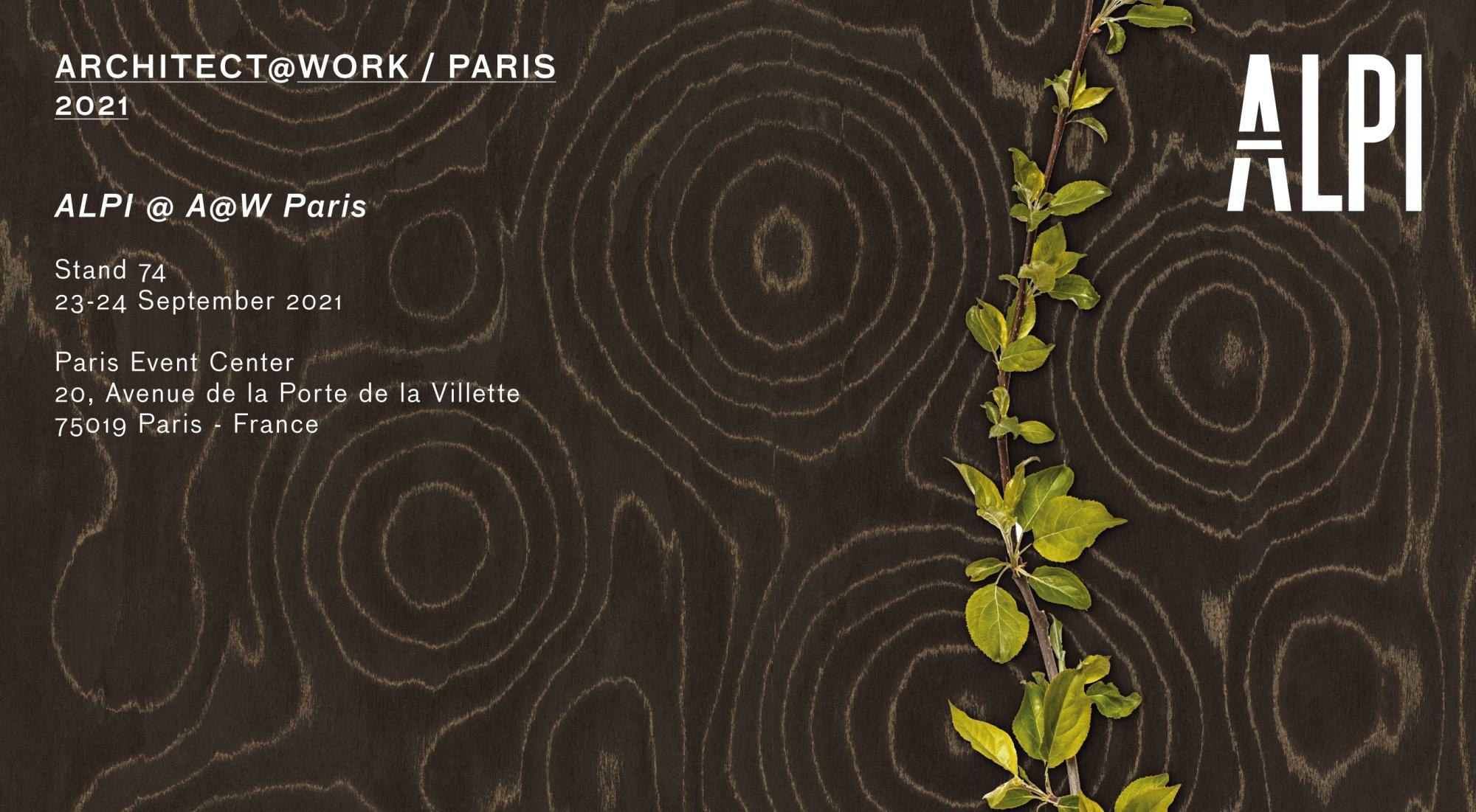ALPI at Architect@Work Paris