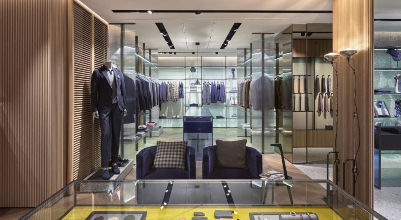 Флагманский магазин Lardini в Милане
