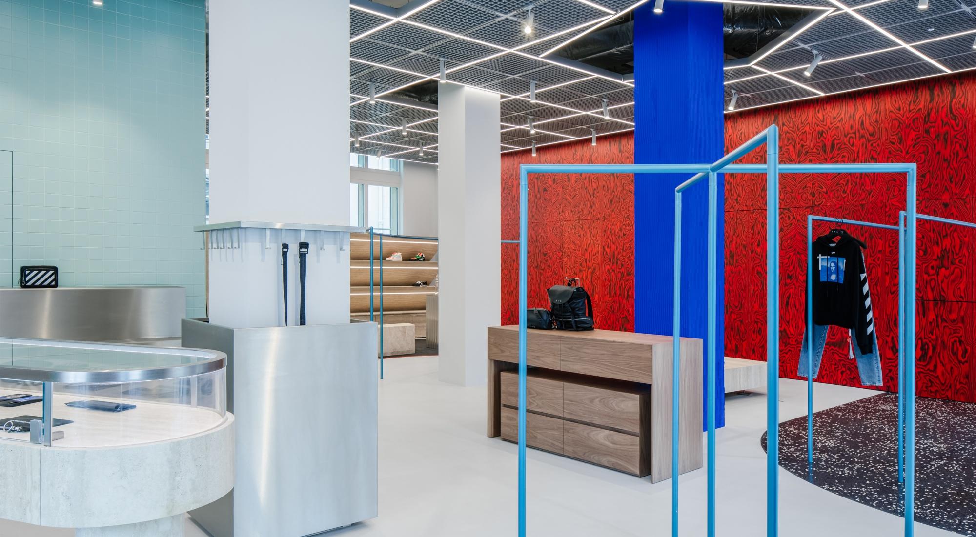 Off-White Flagship store Paris | AMO (OMA)
