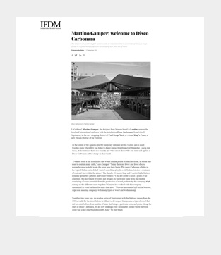 www.ifdm.designSettembre 2019